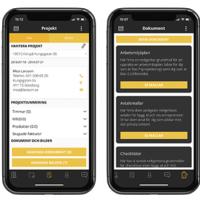 Struqturs app för byggföretag
