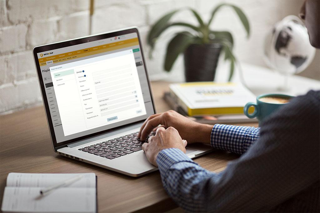 Digital projekthantering för byggföretag