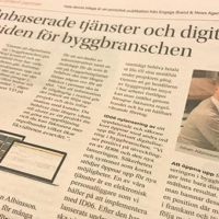 Byggbranschens digitalisering