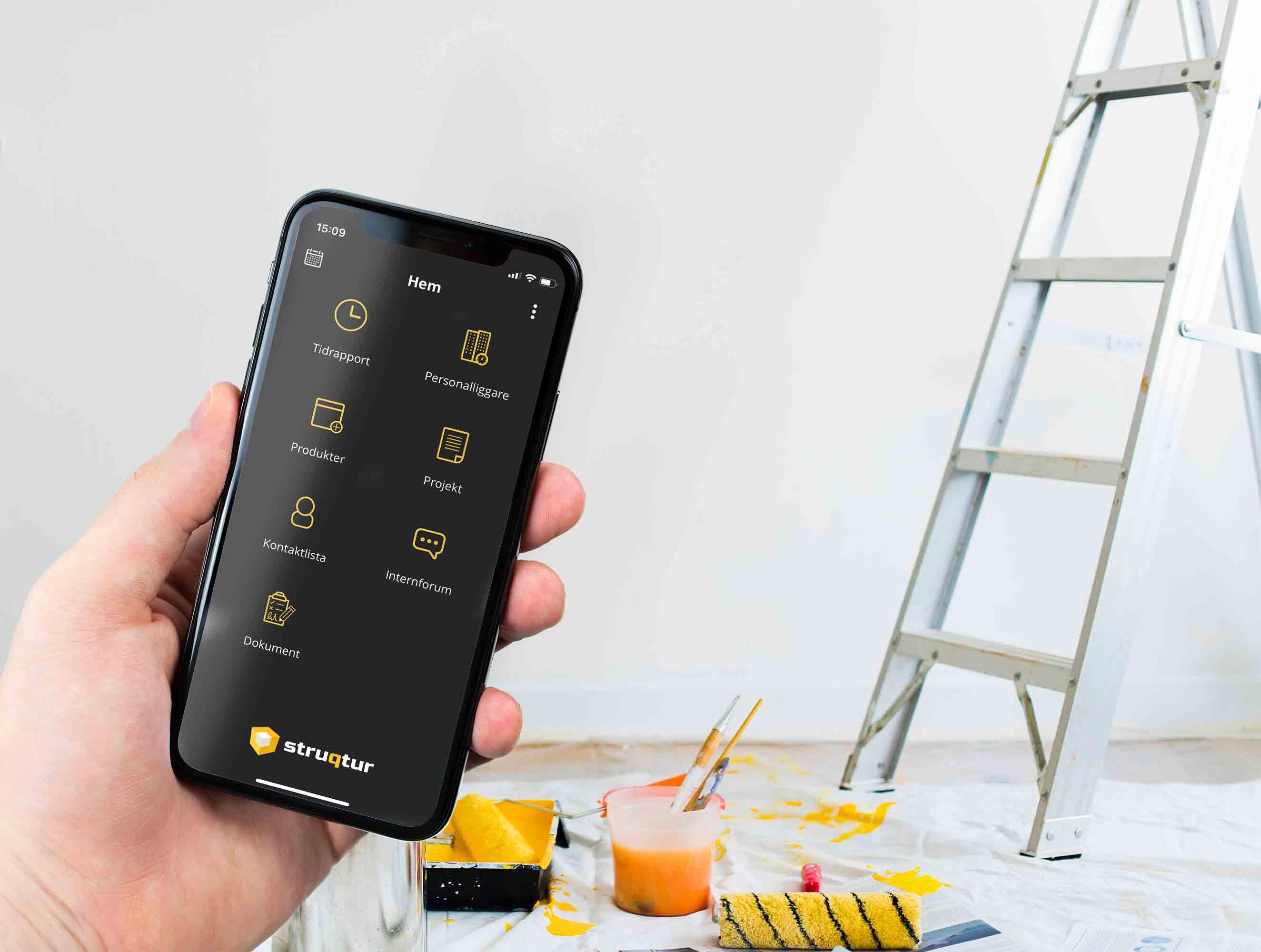 Struqturs app för hantverkare och byggare