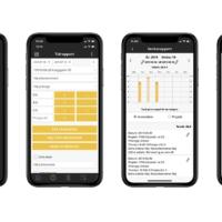 Struqturs tidrapportering i mobilappen