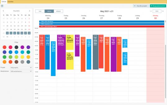 Struqturkalendern - 2 kalendrar i en, pllaneringsverktyg, kalender, struqtur