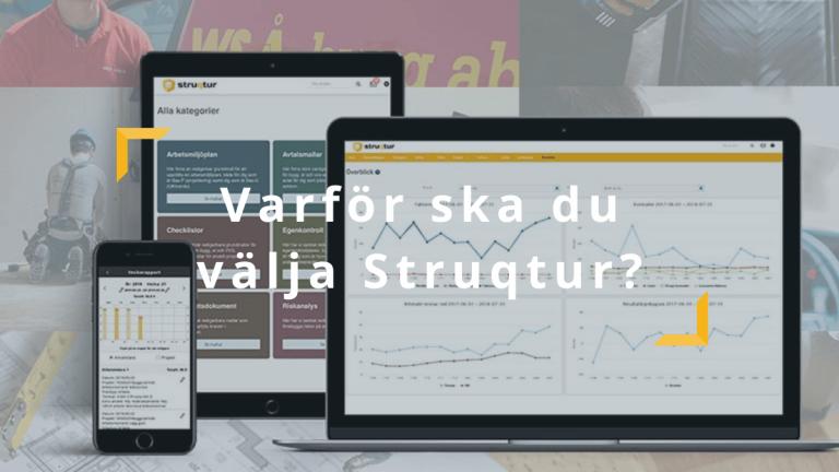 Varför ska du välja Struqtur huvudbild, Struqtur, Projektverktyg
